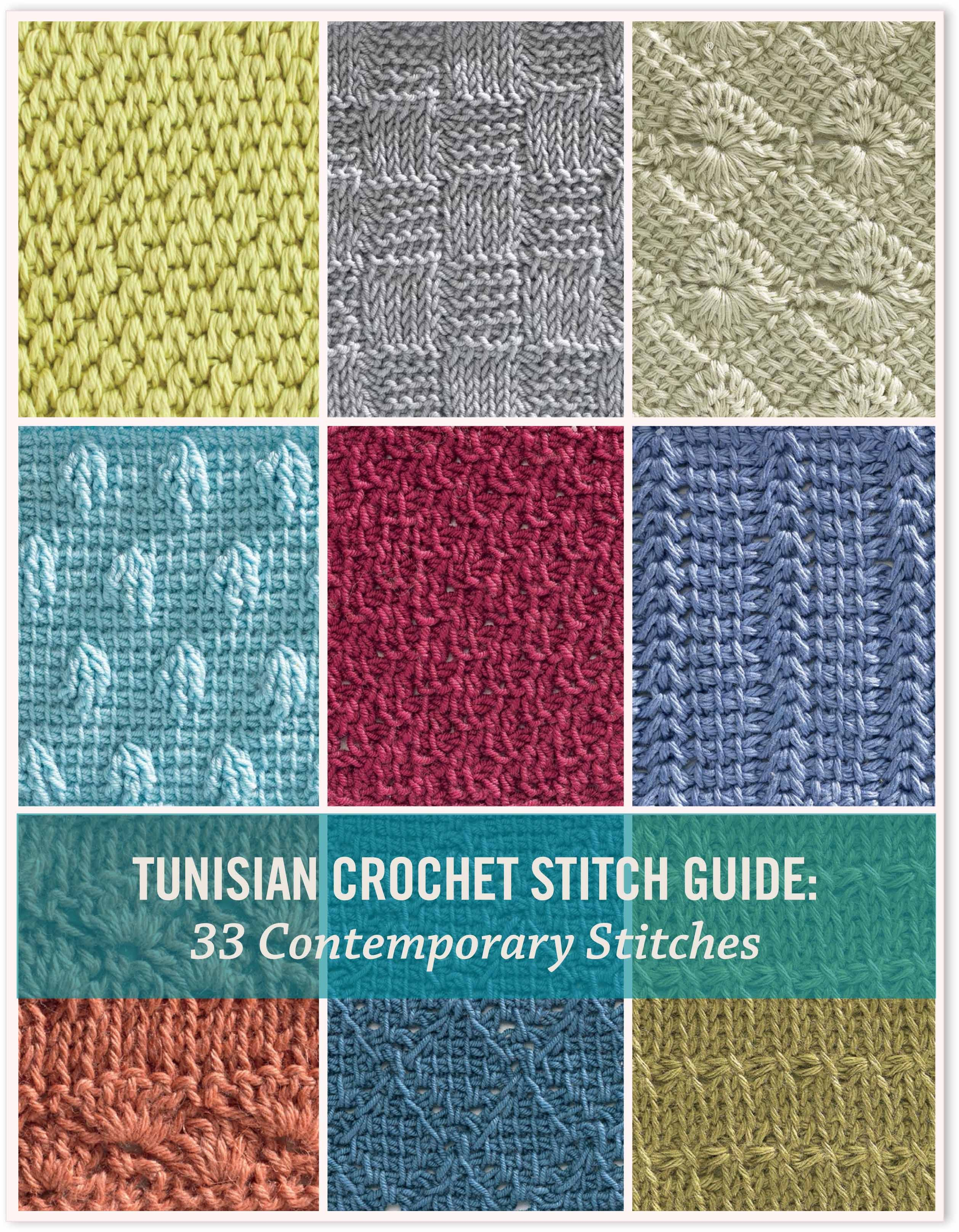 Crochet Stitches Getting Started : tunisian crochet stitch guide ebook discover new tunisian crochet ...