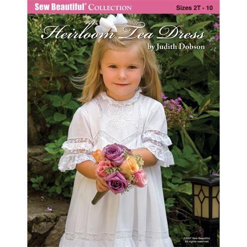 Heirloom Tea Dress Kit + Pattern | Martha Pullen