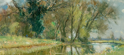 David Curtis, Fine Spring Morning